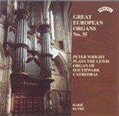 Great European Organs Vol 35 / Peter Wright