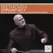 Beethoven: Symphony no 9 / Zinman, Zurich Tonhalle, et al