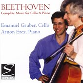 Beethoven: Music For Cello & Piano / Gruber, Erez