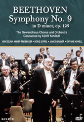Beethoven: Symphony No. 9 / Kurt Masur/Gewandhaus Orch. [DVD]