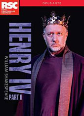 William Shakespeare: Henry IV, Part II / Royal Shakespeare Company; Gregory Doran [2 DVD]