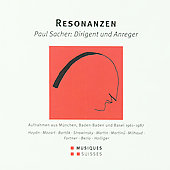 Resonanzen - Paul Sacher, Dirigent und Anreger / Holliger