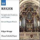 Reger: Organ Works Vol 7 / Edgar Krapp