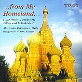 From my homeland - Flute Music of Prokofiev, Tsibin, et al