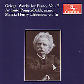 Grieg: Works for Piano Vol 7 / Pompa-Baldi, Liebenow