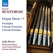 Buxehude: Organ Music Vol 7 / Julia Brown