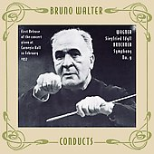 Wagner: Siegfried Idyll;  Bruckner: Symphony no 9 / Bruno Walter, Philharmonic Symphony Orchestra