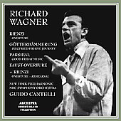 Wagner: Orchestral Music / Guido Cantelli, New York PO, et al