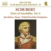 Deutsche Schubert-Lied-Edition 30 - Poets of Sensibility Vol 6