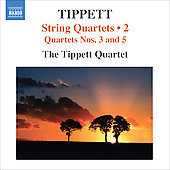 Tippett: String Quartets no 3 & 4 / Tippett Quartet