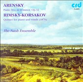 Arensky: Piano Trio, Op. 32; Rimsky-Korsakov: Quintet