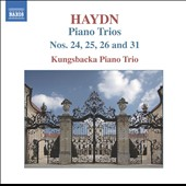 Haydn: Piano Trios Vol. 1: Nos. 24, 25, 26 & 31 / Kungsbacka Piano Trio