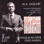 Kagan Edition Vol 2- Mozart: Sonaten f&#252;r Klavier und Violine