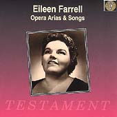 Eileen Farrell - Opera Arias & Songs
