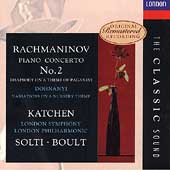 The Classic Sound - Rachmaninov: Piano Concerto / Katchen