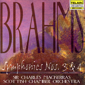 Classics - Brahms: Symphonies no 3 & 4 / Mackerras, et al