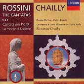 Rossini: The Cantatas Vol 1 / Chailly, Devia, Pertusi, et al
