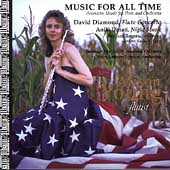 Music for All Time - Diamond: Flute Concerto, etc / Young