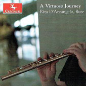 A Virtuoso Journey: Works for Flute by Mozart, Köhler, Kuhlau, Mercadante et al. / Rita D'Arcangelo, flute