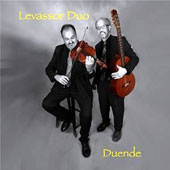 Duende - contemporary works for viola and guitar by Joe Drzewiecki & Jose Lezcano plus Telemann, de Falla, Jewish tunes & Christmas carols / Levassor Duo