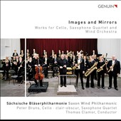 Images and Mirrors: Works by Friedrich Gulda, Paul Hindemith, Bart Picqueur, Heitor Villa-Lobos / Peter Bruns, cello; Clair Obscur; Saxon Wind Philharmonic, Thomas Clamor