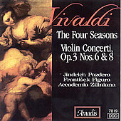 Vivaldi: The Four Seasons, etc / Pazdera, Figura, et al