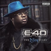 E-40 (Rap): The  D-Boy Diary: Book 2 [PA] [Digipak]