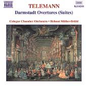 Telemann: Darmstadt Overtures (Suites) / M&uuml;ller-Br&uuml;hl, K&ouml;ln
