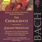 Edition Bachakademie Vol 82 - A Book of Chorale-Settings