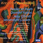 Penderecki: St. Luke Passion / Soustrot, Hirzel, et al