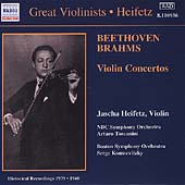 Great Violinists - Beethoven, Brahms / Heifetz