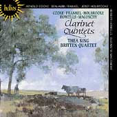 Clarinet Quintets / Thea King, Britten Quartet