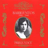 Prima Voce - Maria Barrientos (1884-1946)
