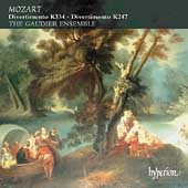 Mozart: Divertimenti K 247 and 334 / Gaudier Ensemble