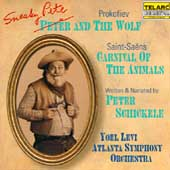 Prokofiev: Sneaky Pete and the Wolf, etc / Levi, Atlanta SO