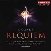 Mozart: Requiem / Guest, Kenny, Walker, Kendall, et al