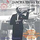 Jascha Heifetz Collection Vol 3,