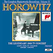 Horowitz Vol IV - The Legendary 1968 TV Concert