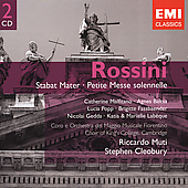 Gemini - Rossini: Stabat Mater, etc / Cleobury, Muti, et al