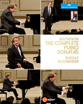 Beethoven: The Complete Piano Sonatas - Bonus: Interview with Mr. Buchbinder about the Beethoven Sonatas / Rudolf Buchbinder, piano (live, Salzburg Festival 2014) [3 Blu-ray]