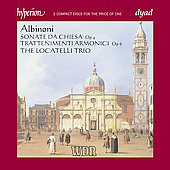 Albinoni: Sonate da Chiesa, etc / Locatelli Trio