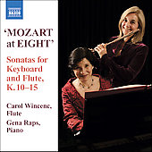 Mozart at Eight - Flute Sonatas / Wincenc, Raps