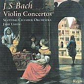 Bach: Violin Concertos;  Vivaldi / Laredo, Scottish CO