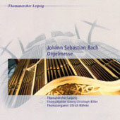 J.S. Bach: Organ Mass / Ullrich Bohme, organ; Hartmut Becker. St Thomas's Boys Choir, Georg Christoph Biller