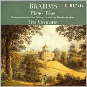 Brahms: Trascriptions for Piano Trio / Trio Viennarte