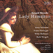K&#252;nneke: Lady Hamilton, etc / Marszalek, Stephan, et al
