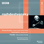 Rachmaninov, Prokofiev, etc / Rozhdestvensky, BBC SO
