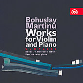 Martinu: Complete Works for Violin and Piano