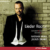 Lieder Recital - Schubert, Schumann, Brahms, Strauss / Berg, Drake