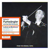 Beethoven: Symphony no 5 & 6, Concerto for Violin / Wilhelm Furtw&auml;ngler, Sir Yehudi Menuhin, et al